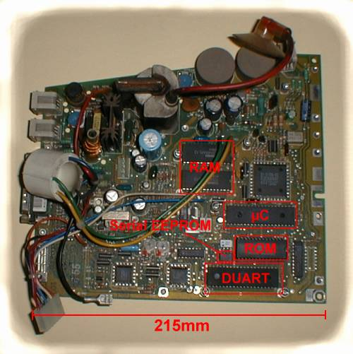 Digital VT320 PCB – VT100 net